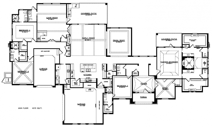 9806 Midsomer Place - Floorplan
