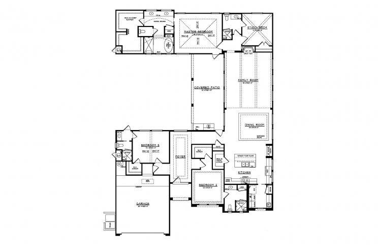 7202 Bluff Run Floorplan