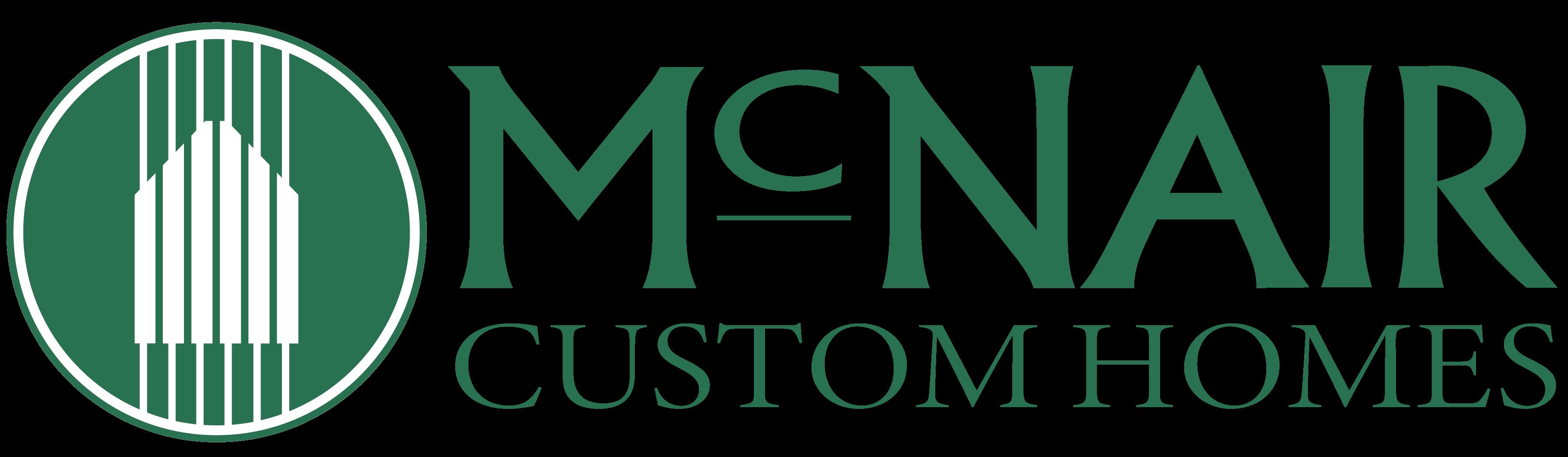 McNair Custom Homes - New Logo 2021