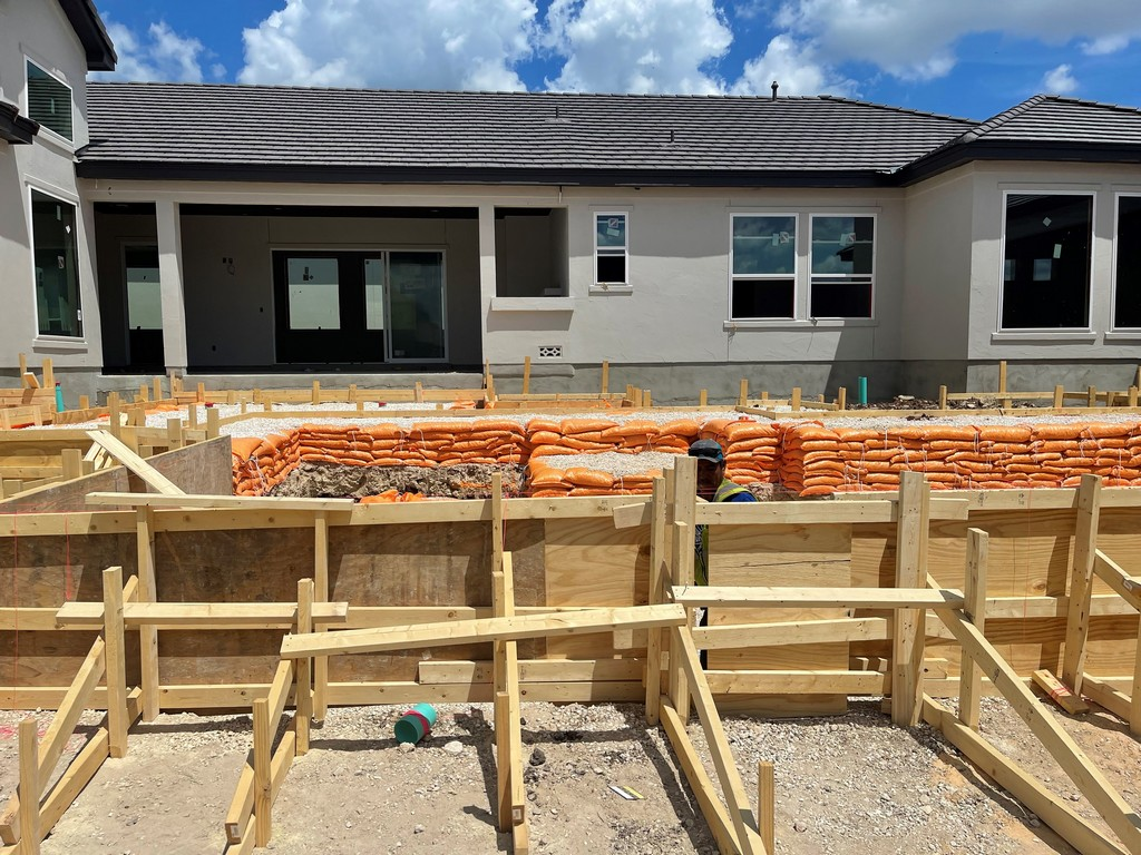 6314 Malaga Way Pool Construction